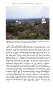 Tropical Forests in Prehistory internal 1