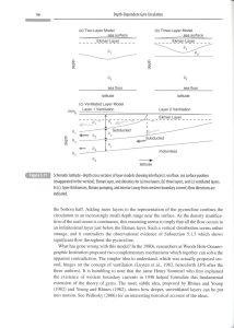 Ocean Circulation in Three Dimensions internal 2